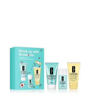 "S.O.S Box Clinique - ""Break Up with Breakouts"""