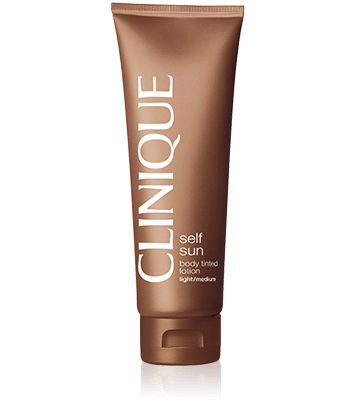 Clinique Self Sun™ Gel Crème Teinté Auto-Bronzant Corps - Light/Medium
