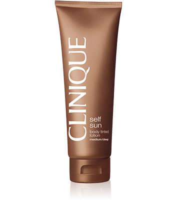 Clinique Self Sun™ Gel Crème Teinté Auto-Bronzant Corps - Medium/Deep