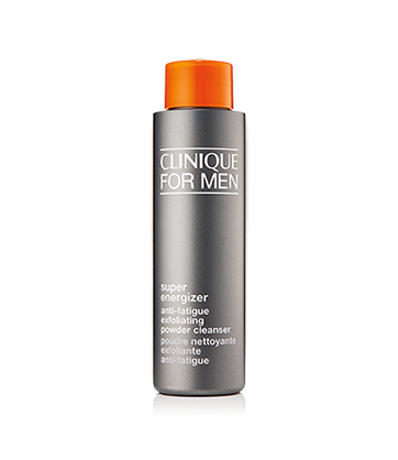 Clinique For Men™ Super Energizer Poudre Nettoyante + Exfoliante Anti-Fatigue